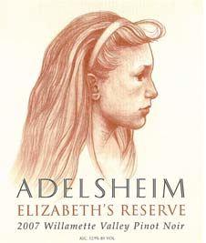 2008 Adelsheim Elizabeth's Reserve Pinot Noir