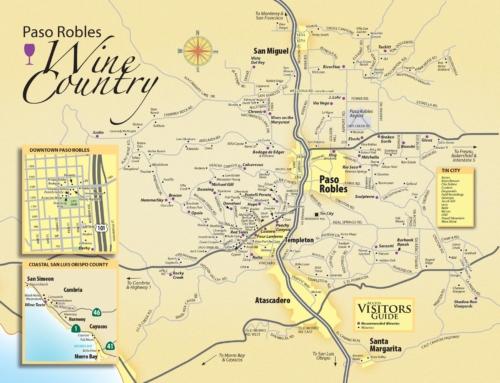 Wine Maps: Paso Robles — California