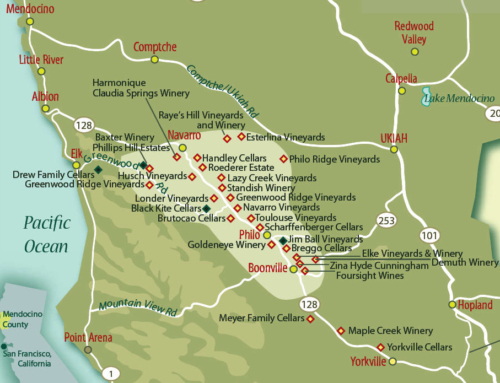 Wine  Maps: Anderson Valley — California