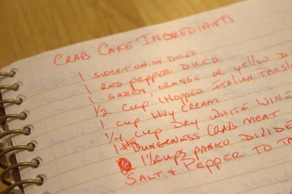 Marc's recipe