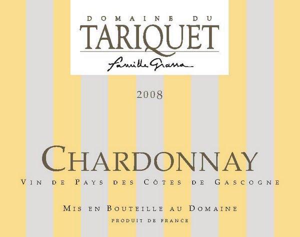 2010 Domaine du Tariquet Cotes de Gascogne France Chardonnay