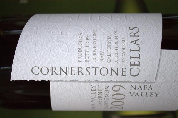 2009 Cornerstone Cellars Napa Valley Cabernet Sauvignon