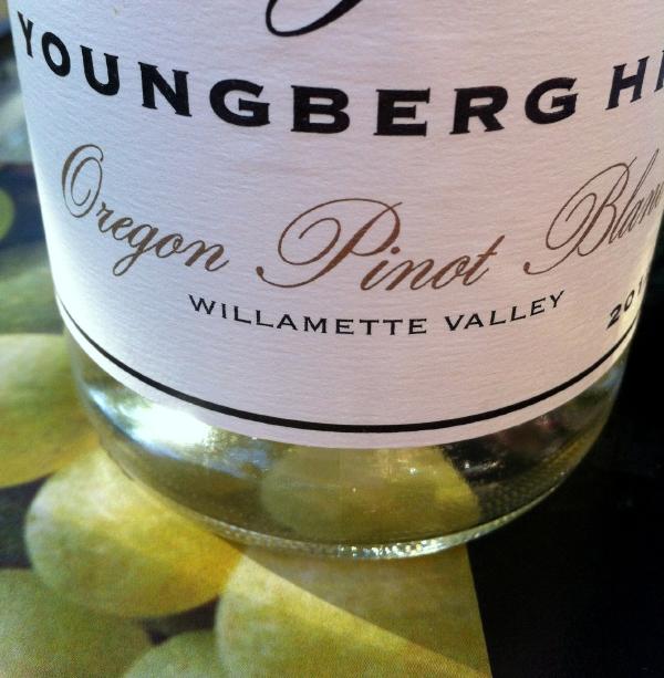 Youngberg Hill Pinot blanc