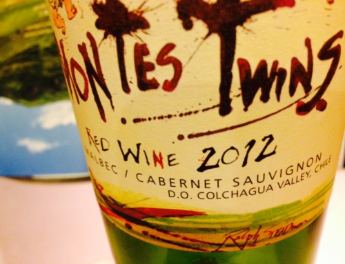 Wine Review: 2012 Montes Twins Red Blend
