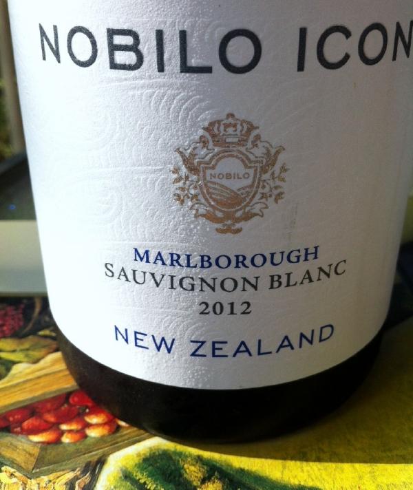 2012 Nobilo Icon Marlborough New Zealand Sauvignon Blanc