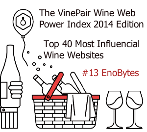 Enobytes Makes Top 40 Most Influential Wine Websites List