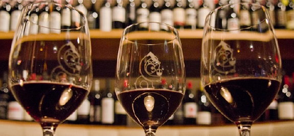 Portland's Best Food and Wine: Noble Rot Wine Bar has great views, food and 40 wines by the glass!