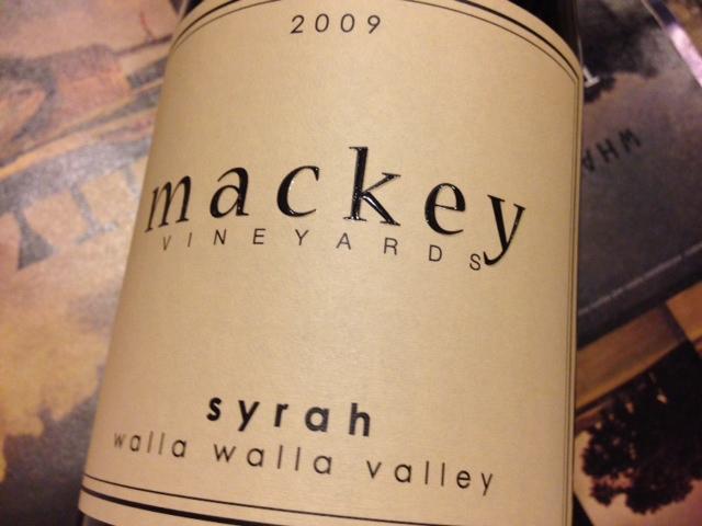 Mackey Columbia Valley Cabernet Sauvignon