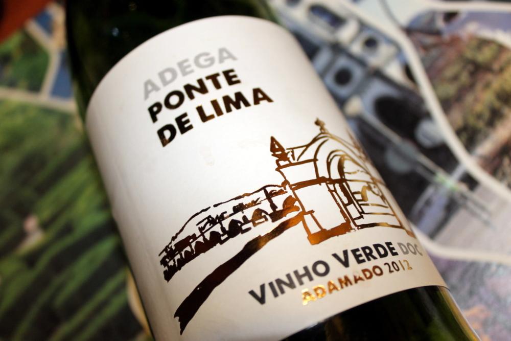 2012 Vino Verde Adega Ponte de Lima Adamado