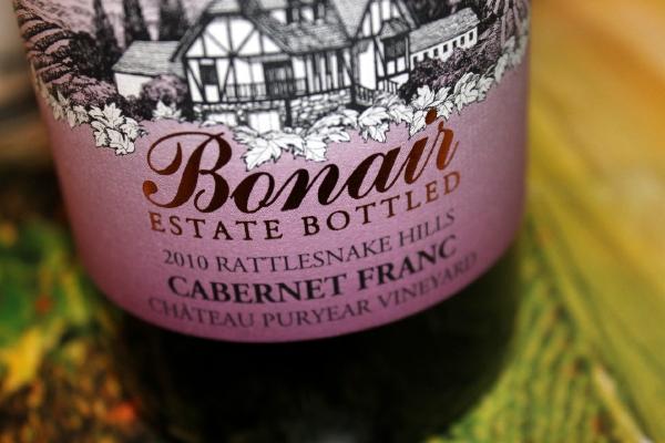 Wine Review: 2010 Bonair Rattlesnake Hills Washington Cabernet Franc