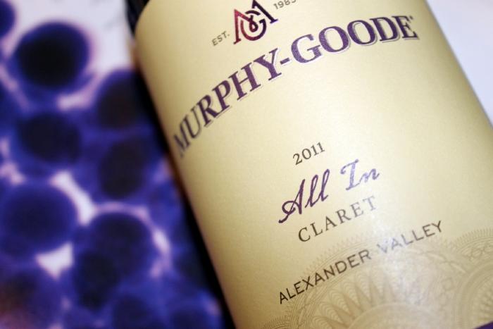 """2011 Murphy Goode """"All In"""" Alexander Valley Claret"""