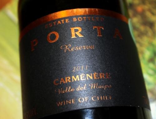 Wine Review: 2011 Porta Carmenere Reserva Chile