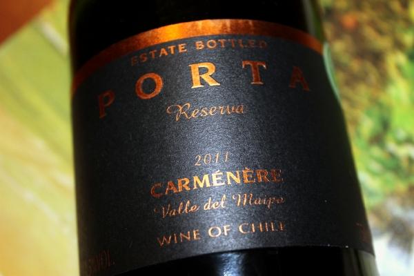 2011 Porta Carmenere Reserva Chile