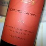 Dutcher Crossing Bernier-Sibary Zinfandel; What is a Field Blend Wine?