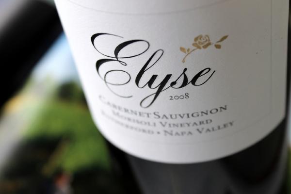 Elyse Winery Morisoli Vineyard Cabernet Sauvignon