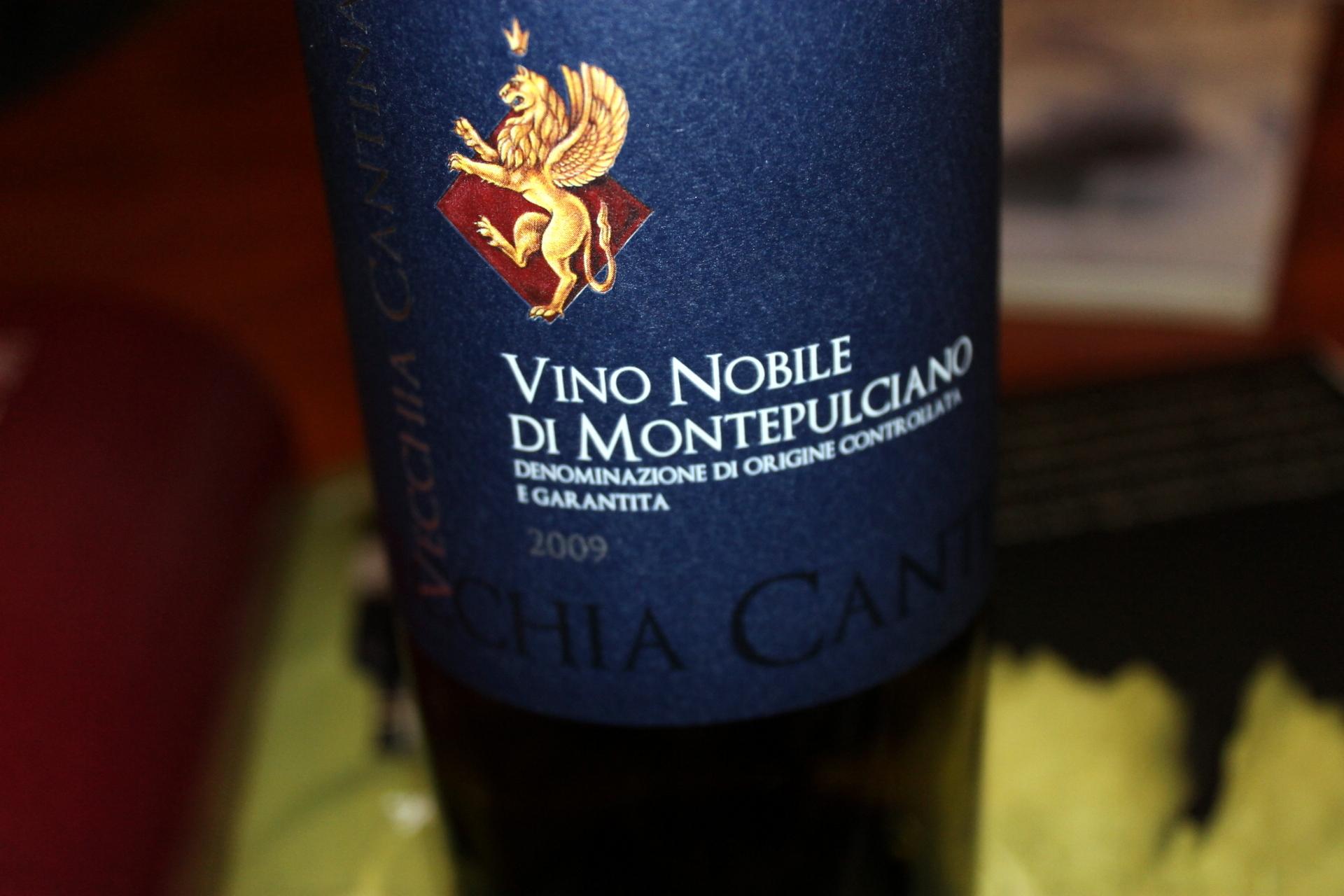 Vecchia Cantina Vino Nobile Di Montepulciano