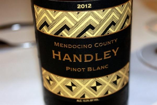 2012 Handley Pinot Blanc
