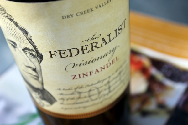 The Federalist Visionary Zinfandel Dry Creek Valley