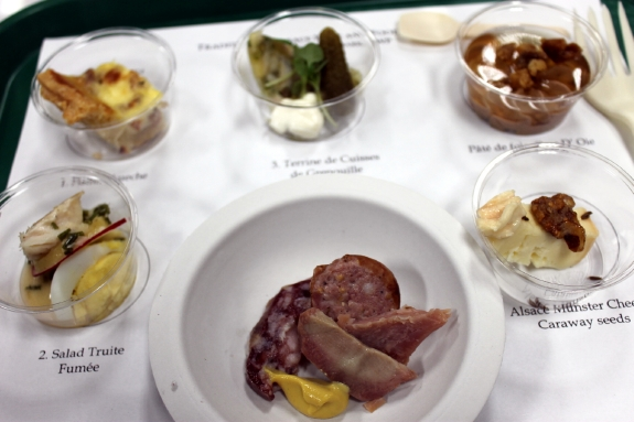 Food pairings at the Anderson Valley Alsatian Festival