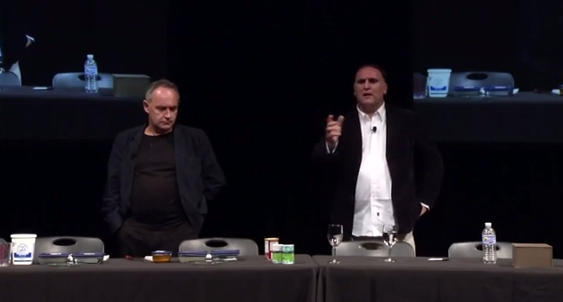Ferran Adria and José Andrés at Harvard