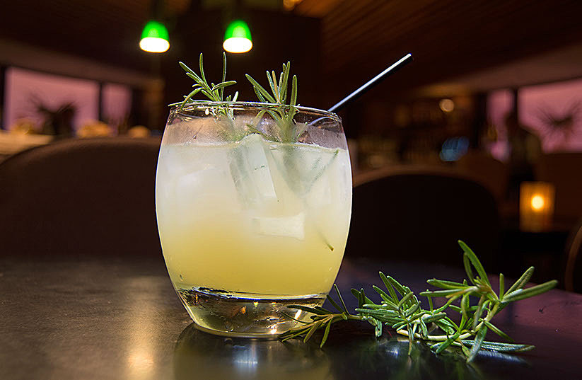 Rosemary's Baby Cocktail Drink
