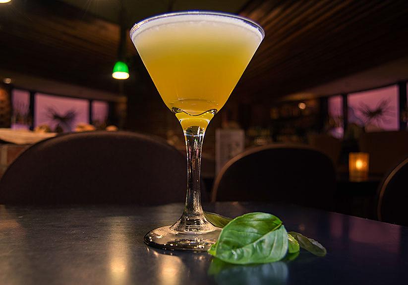 Thai Gimlet cocktail drink