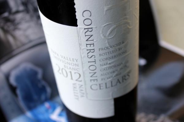 2012 Cornerstone Napa Valley Sauvignon Blanc