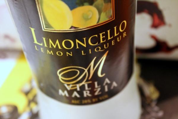 Sartori di Verona Villa Marzia Limoncello Lemon Liqueur