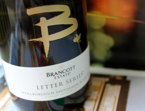 Steely and Bright: Brancott Letter Series Sauvignon Blanc