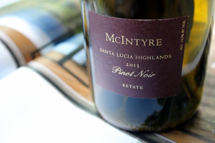 2013 McIntyre Estate Pinot Noir, Santa Lucia Highlands, California