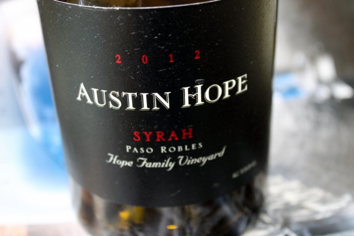 Austin Hope Syrah Paso Robles