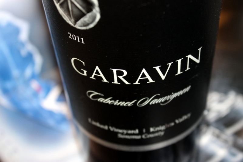 Garavin Cabernet Sauvignon Linked Vineyard Knights Valley Sonoma County