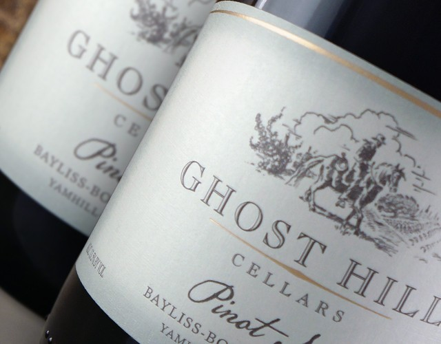 Ghost hill cellars pinot noir