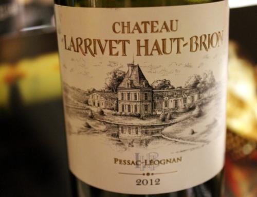 Chateau Larrivet Haut-Brion Pessac-Leognan Bordeaux