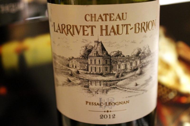 Chateau Larrivet Haut-Brion Pessac-Leognan