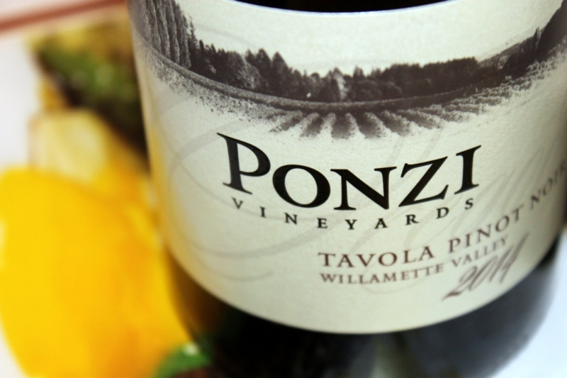 Ponzi Tavola Willamette Valley