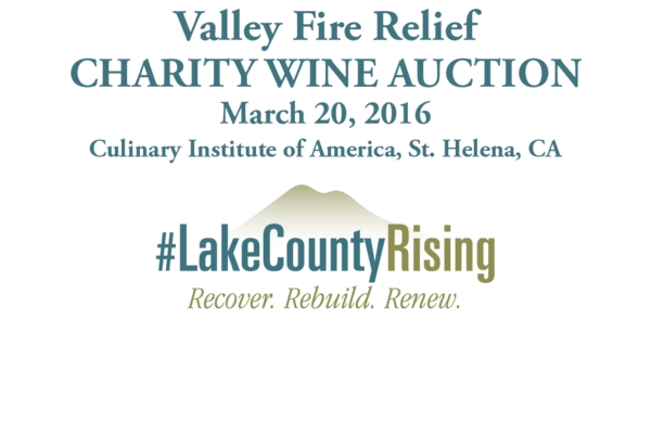 Lake County Rising Charity Wine Auction