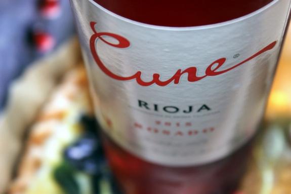 2015 Cune Rioja Rosado Tempranillo, Spain