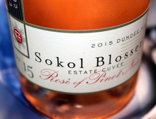 Intense Liquid Honeycomb: Sokol Blosser Rose of Pinot Noir