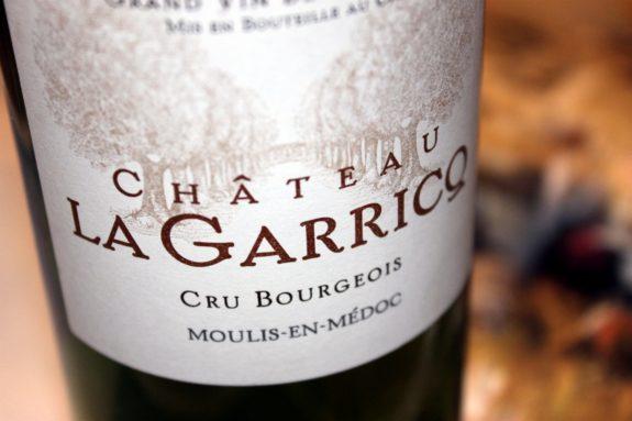 2012 Château La Garricq Moulis
