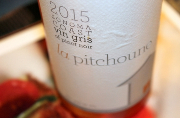 2015 La Pitchoune Vin Gris Pinot Noir, Sonoma Coast, California