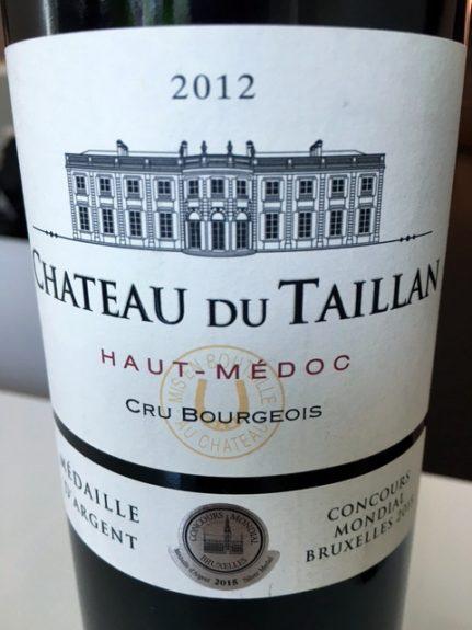 2012 Château Du Taillan Haut-Medoc