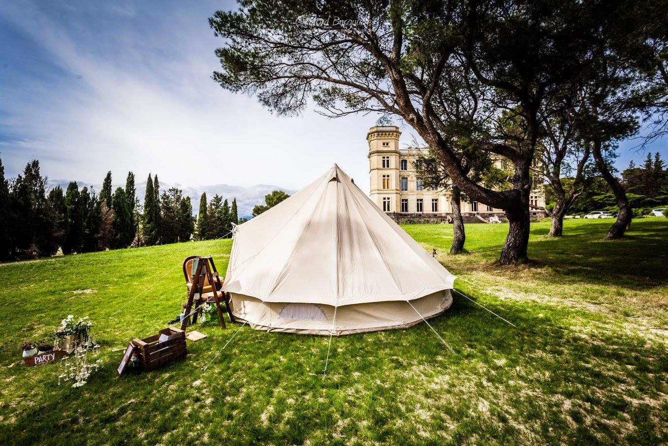 Camping at Camping at Chateau de Seriege