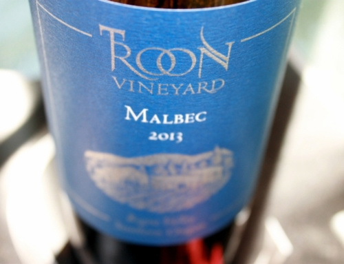 Soft-textured and Plush: Troon Vineyards Blue Label Malbec