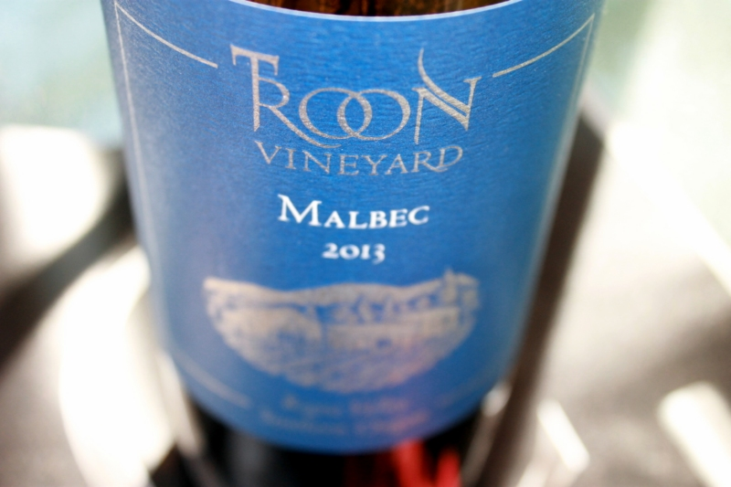 Troon Vineyards Blue Label Malbec