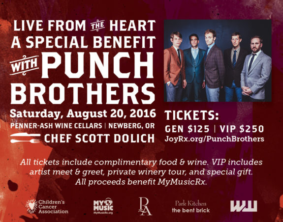Live from the Heart Benefit Announced