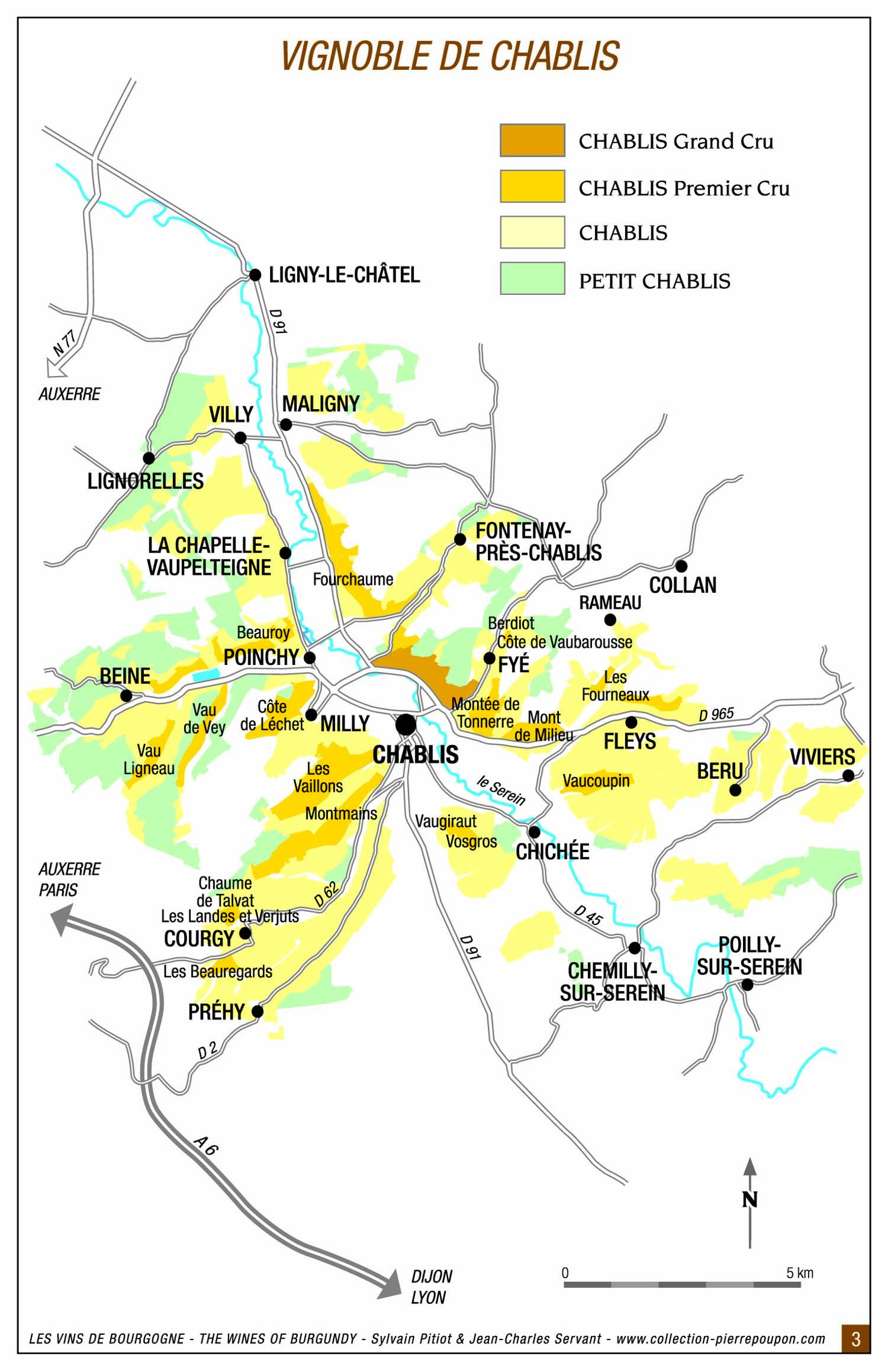 chablis wine map