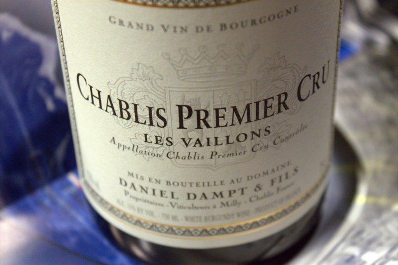 2015 Domaine Daniel Dampt Chablis Premier Cru Vaillons