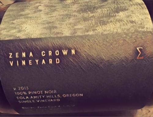 2013 Zena Crown Pinot noir ∑
