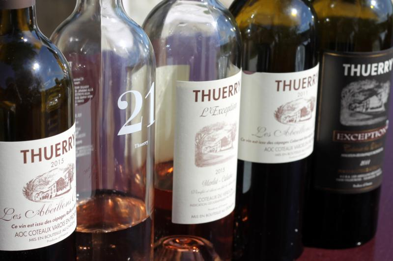 Chateau Thuerry's three flagship lines—L'Exception, Les Abeillons and Le Chateau